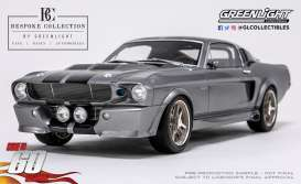 Shelby  - GT500 *Eleanor* 1967 grey/black - 1:12 - GreenLight - 12102 - gl12102 | Tom's Modelauto's