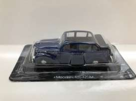 Moskvitch  - 400-420A Cabriolet dark blue - 1:43 - Magazine Models - magrus400-420A | Tom's Modelauto's