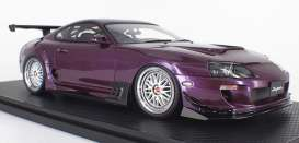 Toyota  - Supra *JZA80* purple - 1:18 - Ignition - IG1809 - IG1809 | Toms Modelautos