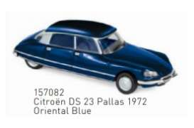 Citroen  - DS 23 Pallas 1972 blue - 1:87 - Norev - 157082 - nor157082 | Toms Modelautos