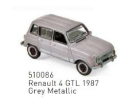 Renault  - 4 GTL 1987 grey metallic - 1:87 - Norev - 510086 - nor510086 | Toms Modelautos