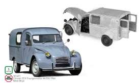 Citroen  - 2CV 1966 blue - 1:18 - Norev - 181491 - nor181491 | Tom's Modelauto's