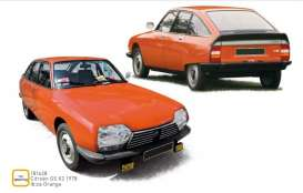 Citroen  - GS Pallas 1978 orange - 1:18 - Norev - 181628 - nor181628 | Tom's Modelauto's