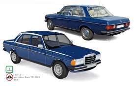 Mercedes Benz  - 230 1980 blue - 1:18 - Norev - 183710 - nor183710 | Toms Modelautos