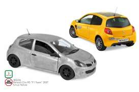 Renault  - Clio 2007 yellow - 1:18 - Norev - 185236 - nor185236 | Toms Modelautos
