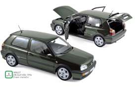 Volkswagen  - Golf VR6 1996 green - 1:18 - Norev - 188437 - nor188437 | Toms Modelautos