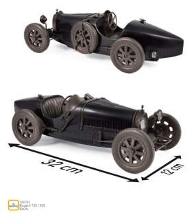 Bugatti  - T35 1925 black - 1:12 - Norev - 125701 - nor125701 | Tom's Modelauto's
