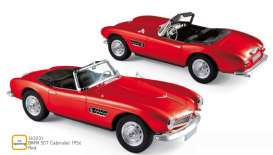 BMW  - 507 1956 red - 1:18 - Norev - 183231 - nor183231 | Toms Modelautos