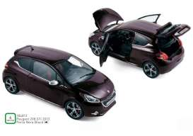 Peugeot  - 208 GTi 2013 black - 1:18 - Norev - 184812 - nor184812 | Tom's Modelauto's