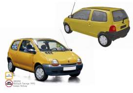Renault  - Twingo 1993 yellow - 1:18 - Norev - 185290 - nor185290 | Tom's Modelauto's