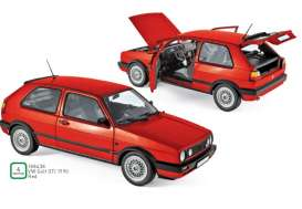 Volkswagen  - 1990 red - 1:18 - Norev - 188438 - nor188438 | Tom's Modelauto's