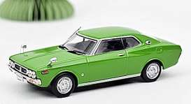 Nissan  - Laurel Hard Top 1972 green - 1:43 - Norev - 420177 - nor420177 | Toms Modelautos