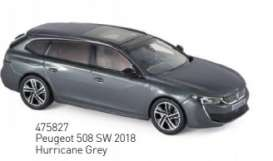 Peugeot  - 508 SW 2018 grey - 1:43 - Norev - 475827 - nor475827 | Tom's Modelauto's