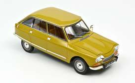 Citroen  - Ami 8 Club 1969 yellow - 1:18 - Norev - 181670 - nor181670 | Toms Modelautos