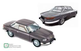 Panhard  - 24CT 1964 silver/grey - 1:18 - Norev - 184502 - nor184502 | Toms Modelautos