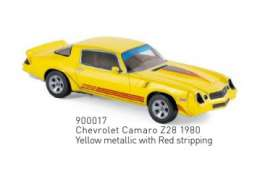 Chevrolet  - Camaro Z28 1980 yellow metallic - 1:43 - Norev - 900017 - nor900017 | Tom's Modelauto's