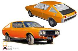 Renault  - 17 TL 1973 orange - 1:18 - Norev - 185281 - nor185281 | Tom's Modelauto's
