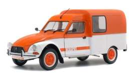 Citroen  - Acadiane Acaspot white/orange - 1:18 - Solido - 1800404 - soli1800404 | Tom's Modelauto's