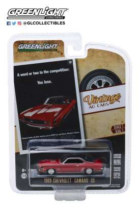 Chevrolet  - Camaro SS 1969 orange - 1:64 - GreenLight - 39020A - gl39020A | Toms Modelautos