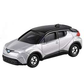 Toyota  - C-HR silver - 1:64 - Tomica - 094 - to094 | Tom's Modelauto's