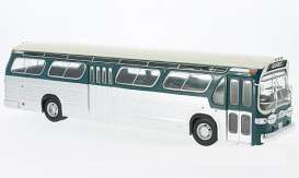 GMC  - 1969 green/white - 1:43 - IXO Models - BUS013 - ixBUS013 | Toms Modelautos