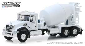 Mack  - Granite 2019 white - 1:64 - GreenLight - 45080B - gl45080B | Tom's Modelauto's