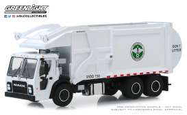 Mack  - LR Refuse 2019 white - 1:64 - GreenLight - 45080C - gl45080C | Toms Modelautos