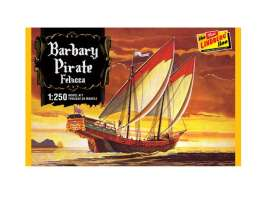 Boats  - Barbary Pirate Ship *Felucca*  - 1:250 - Lindberg - HL205 - lndsHL205 | Toms Modelautos