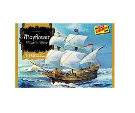 Boats  - Mayflower Pilgrim Ship  - 1:250 - Lindberg - HL215 - lndsHL215 | Toms Modelautos