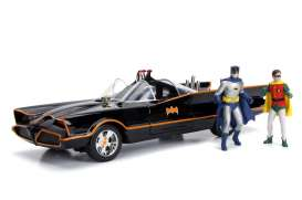 Batman  - Classic TV Series 1966 black/red - 1:18 - Jada Toys - 98625 - jada98625 | Tom's Modelauto's