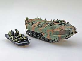 Militaire  - JGSDF AAVC7A1 Ram/RS  kinetic yellow - 1:72 - Aoshima - 05665 - abk05665 | Tom's Modelauto's