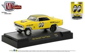 Chevrolet  - Nova Gasser 1967 black/yellow - 1:64 - M2 Machines - 31600GS01 - M2-31600GS01 | Toms Modelautos