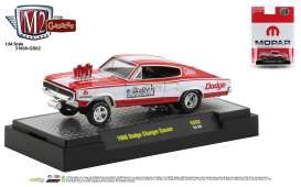 Dodge  - Charger Gasser 1967 red/white - 1:64 - M2 Machines - 31600GS02 - M2-31600GS02 | Toms Modelautos