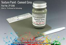 Zero Paints Paint - Grey Textured - Zero Paints - ZP1390 | Tom's Modelauto's