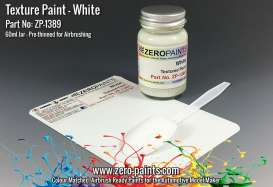 Zero Paints Paint - White Textured - Zero Paints - ZP1389 | Tom's Modelauto's