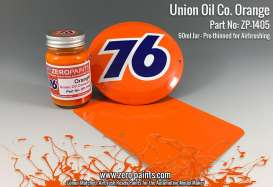 Zero Paints Paint - Union Oil company 76 orange - Zero Paints - ZP1405 | Toms Modelautos