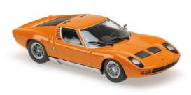 Lamborghini  - Miura 1966 orange - 1:87 - Minichamps - 870103021 - mc870103021 | Toms Modelautos