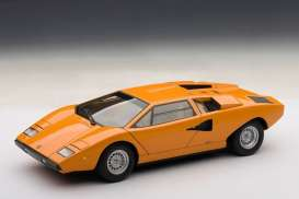 Lamborghini  - Countach LP 400 1974 orange - 1:87 - Minichamps - 870103124 - mc870103124 | Toms Modelautos