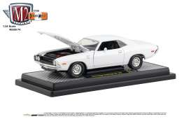 Dodge  - Challenger 1970 white - 1:24 - M2 Machines - 40300-74A - M2-40300-74A | Tom's Modelauto's