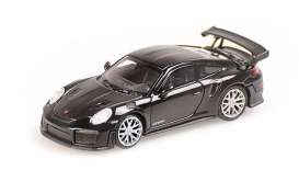 Porsche  - 911 2018 black - 1:87 - Minichamps - 870068120 - mc870068120 | Toms Modelautos