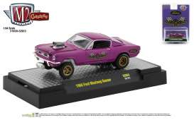 Ford  - Mustang 1966 purple - 1:64 - M2 Machines - 31600GS03 - M2-31600GS03 | Toms Modelautos