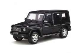 Mercedes Benz  - G-Class 55 AMG 2003 black - 1:18 - OttOmobile Miniatures - ot320 - otto320 | Tom's Modelauto's
