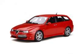 Alfa Romeo  - 156 GTA 2002 red - 1:18 - OttOmobile Miniatures - ot746 - otto746 | Toms Modelautos