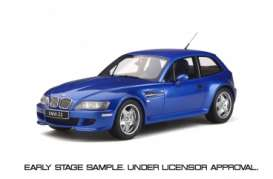 BMW  - Z3 M Coupe 3.2 1999 blue - 1:18 - OttOmobile Miniatures - ot318 - otto318 | Toms Modelautos