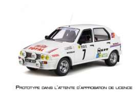 Citroen  - Visa 1982 white/red - 1:18 - OttOmobile Miniatures - ot306 - otto306 | Tom's Modelauto's