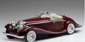 Mercedes Benz  - 540K 1936 dark red - 1:43 - IXO Models - CLC316 - ixCLC316 | Tom's Modelauto's