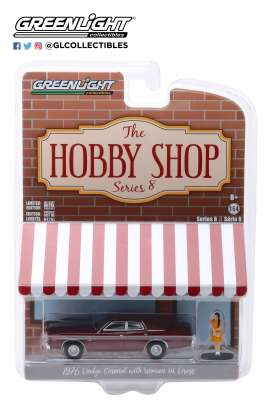 Dodge  - Coronet 1976 red - 1:64 - GreenLight - 97080C - gl97080C | Tom's Modelauto's