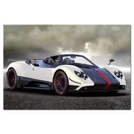 Pagani  - Zonda 2009  - 1:43 - Almost Real - 450601 - ALM450601 | Toms Modelautos