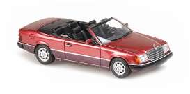 Mercedes Benz  - 300CE 1991 red - 1:43 - Maxichamps - 940037030 - mc940037030 | Toms Modelautos