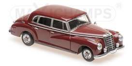 Mercedes Benz  - 300 1951 red - 1:43 - Maxichamps - 940039060 - mc940039060 | Toms Modelautos